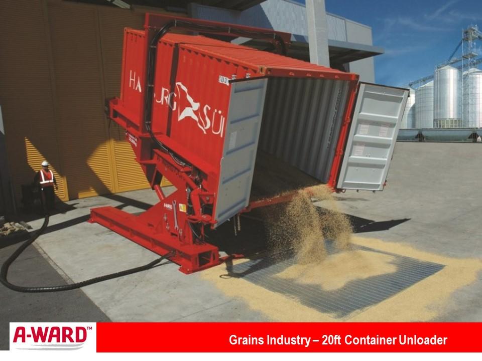 Grains Industry 20Ft Unloader