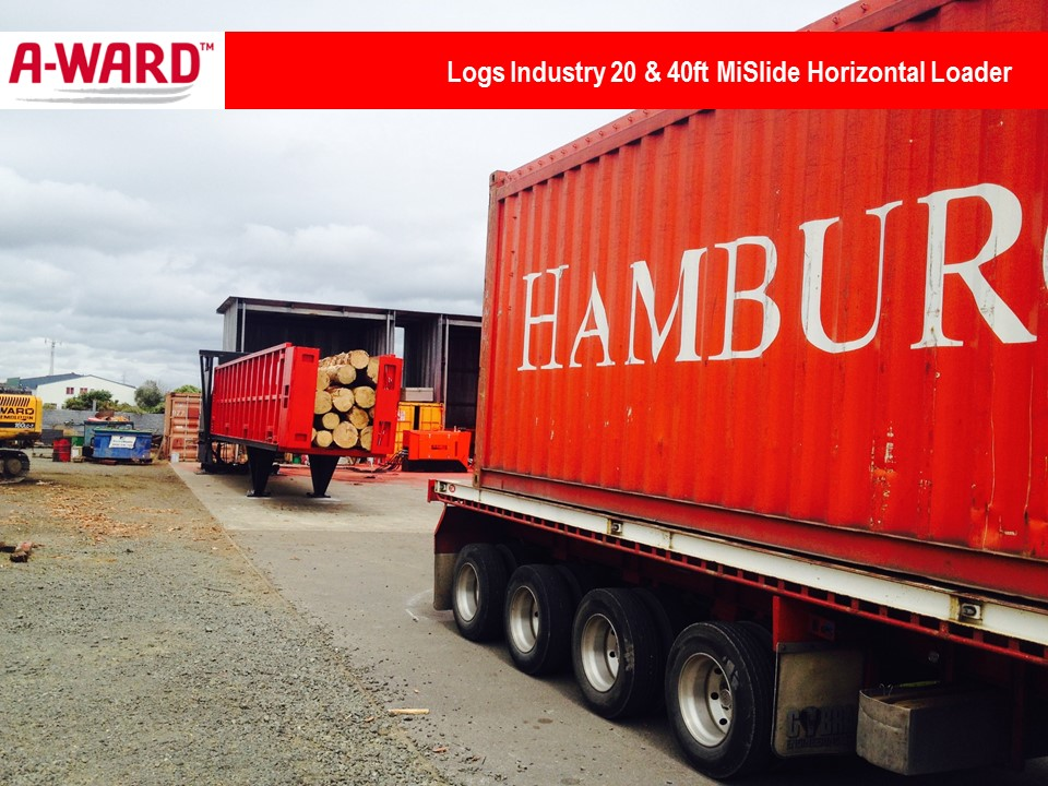 Logs Industry MiSlide Horizontal Loaders
