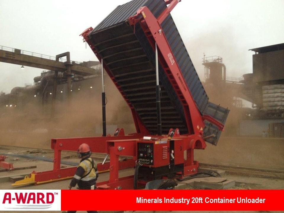 Minerals Industry 20ft Unloader