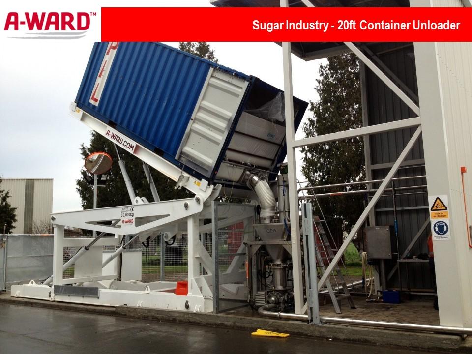Sugar Industry 20Ft Unloader