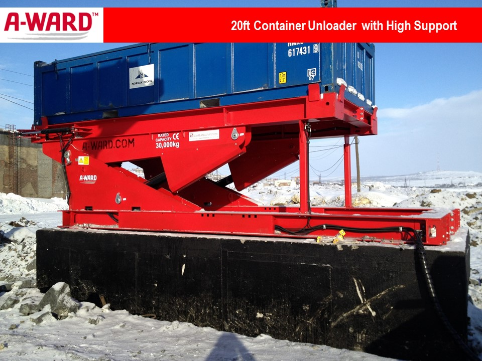 20Ft Unloader with High Support