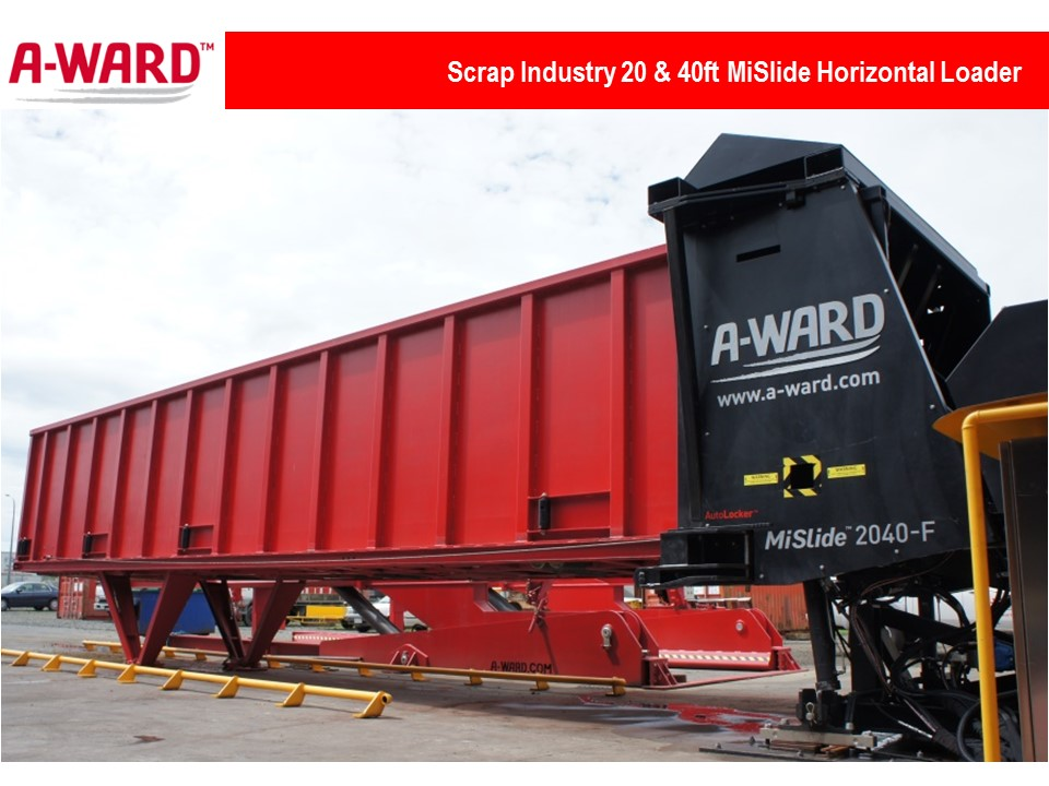 MiSlide 20 & 40Ft Horizontal Loader