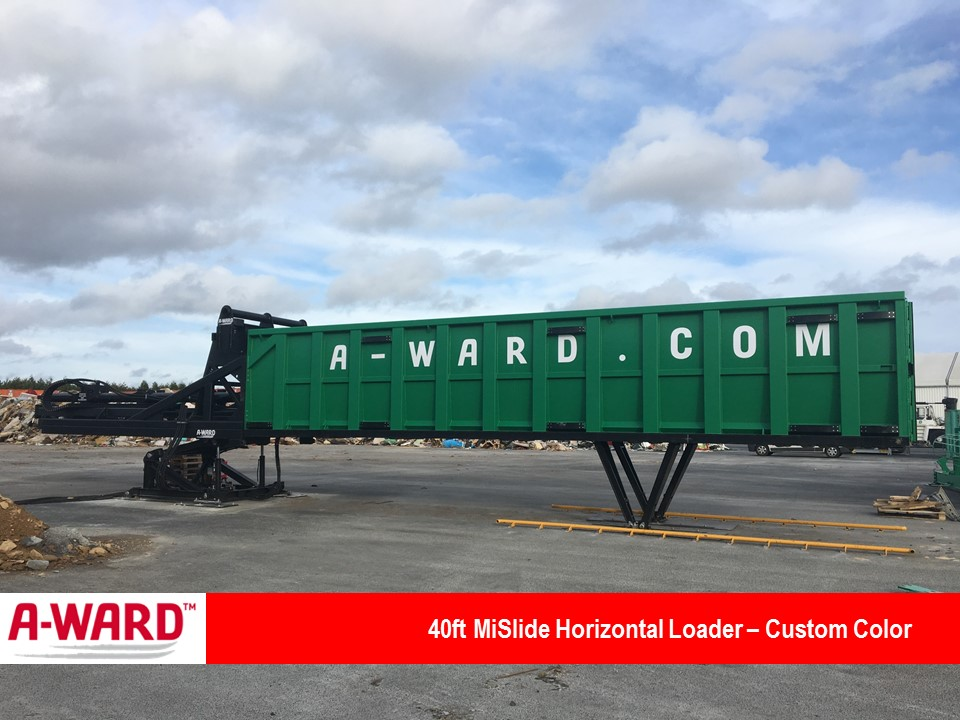 MiSlide 40 Ft Horizontal Loader custom Color