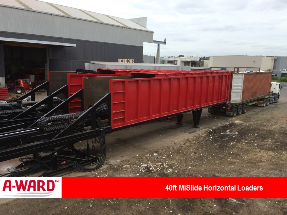 MiSlide 40Ft Horizontal Loaders
