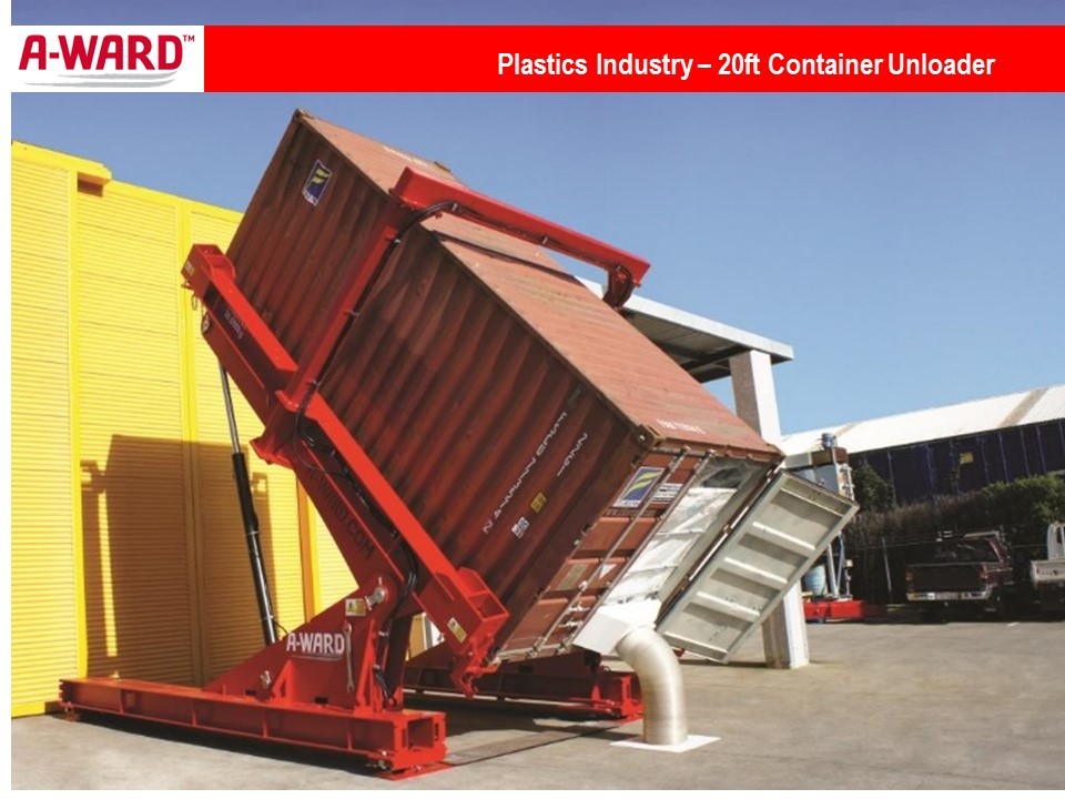 Plastics Industry 20ft Unloader